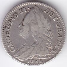 More details for 1746 george ii sixpence   pennies2pounds