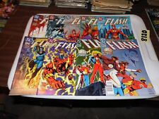 Flash lot of 9 books #97 #98 #111 #112 #113 #114 #115 #116 and #117