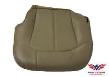 1999-00-01-02 Chevrolet Silverado Driver Bottom Vinyl Seat Cover MED NEUT TAN
