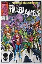 Fallen Angels #7 (Oct 1987, Marvel) Limited Series (C3845)