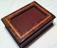 """Reuge Music Picture Frame Music Box With 18 Nt Mvt-""""As Time Goes By"""""""