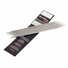 HiyaHiya 6-inch/ 15 Cm X 4 Mm Sharp Stainless Steel Double Pointed Needles Set