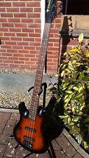 Samick artist series left hand bass guitar