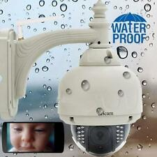 Sricam Wireless Outdoor Pan Tilt CCTV Camera P2P Wifi IP Webcam IR Cam US #A