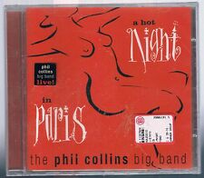 THE PHIL COLLINS BIG BAND HOT NIGHT IN PARIS (GENESIS) CD F.C. NUOVO SIGILLATO!