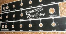 Princeton Reverb face plate BF Correct Sheen!