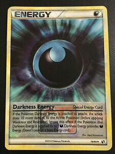 Pokemon!! Finsternis-Energie / Darkness Energy League Promo 79/90! Holo! NM! EN