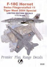 Modello di decalcomanie Alliance 1/48 F/A-18C SWISS TIGER MEET 2004 # 489011
