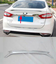 Chrome Plated Rear Trunk Lid Cover Trim for 2013 2014+ Ford Mondeo Fusion