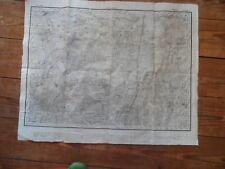 map 1WK 1914 Landkarte Pinsk Пінск damals Russland heute Weißrussland
