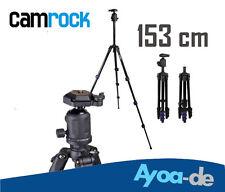 Dreibeinstativ Camrock TS53  f. Canon EOS 650D 600D 550D 70D 60D 700D 153cm