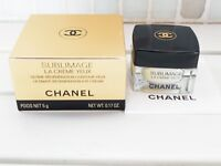 Chanel Sublimage La Creme Yeux Ultimate Regeneration Eye Cream 5g new in box