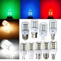 Red/Green/Blue E27/E14/G9/B22 5050 27SMD LED Light Corn Bulb Lamp 110/220V New