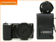 Sony NEX-5 Ultra Compact Appareil Photo, batteur Chargeur E Mount FREE UK POST
