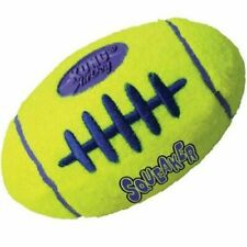 KONG Air Dog Puppy Squeaker RUGBY Ball  Play Fetch Toy