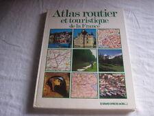 Livre Atlas routier et touristique de la France Bordas 1984