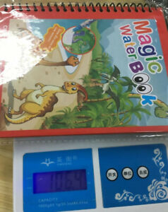 Magic Water Drawing Book Magic Water Reusable Doodle Board for Kids Home US 2021