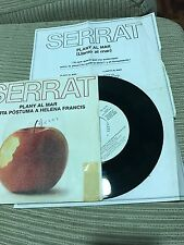 "JOAN MANUEL SERRAT - PLANY AL MAR 7"" SINGLE PROMOCIONAL"