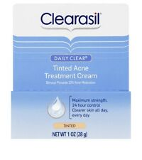 Clearasil Daily clear tinted acne treatment cream 1oz (28 g)