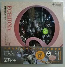 Revoltech Queens Blade 003-EX Echidna Ekidona Figure 2P Color ver. Kaiyodo MIB