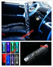 """Universal 4 5 6 Speed Scrytal Bubble 30CM 11.8"""" Inch LED LIGHT Shift knob Lever"""