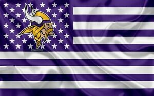 Minnesota Vikings NFL flag 3X5 FAST SHIPPING