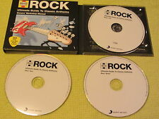 Haynes Rock Ultimate Guide To Classic Anthems 3 CD Album ft Boston Toto Lou Reed