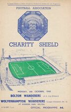 More details for fa charity shield programme 1958 bolton wanderers v wolves