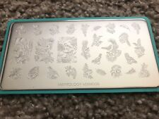 maniology stamping plate, Mxm005, Mxm006, Set Of 2, March 2019, Aloha