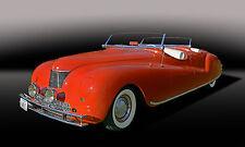 1941 Chrysler Newport Dual Cowl Phaeton Concept Car Classic Car Photo (Ca-0915)