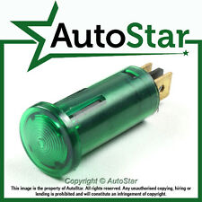 Green Warning Light / Lamp 12v 12 volt Dashboard Panel Indicator Classic Kit Car
