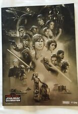 Star Wars Celebration Orlando 2017 commemorative program book swag ON HAND