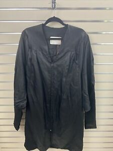 Jostens The Elements Collection Black  Graduate Gown Acetate  5 01/03