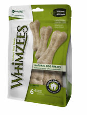 Whimzees Rice Bone 9 Pack - Natural Vegetable Dental Chew Treat Gluten Free Xmas
