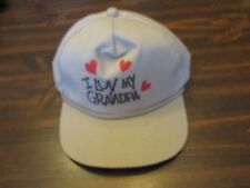 I Luv My Grandpa Hat Cap One Size fits all Adjust-a-size