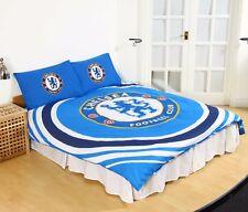 NUOVO Chelsea Football Club Football Club Trapunta Set Copripiumino Bambini Per Ragazzi-Dimensioni letto matrimoniale