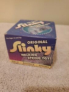 ORIGINAL SLINKY 2000 NEW OLD STOCK IN BOX --BOX IS ROUGH