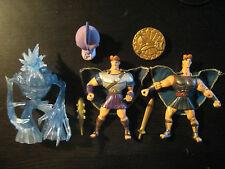 2in1 Figurine Hercules Hydra Slaying Ice Titan Battle Pack - Disney Mattel 1997