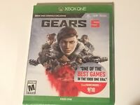 Gears Of War 5 Microsoft Xbox One, Series X & S Brand New Factory Sealed!!!!!!!!