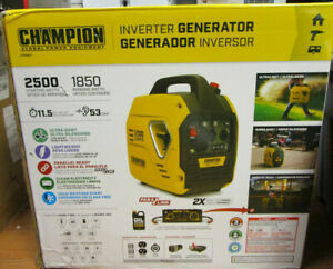Champion Power Equipment 2500-Watt Portable Inverter Generator,Ultralight