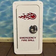 Emergency Fireball Storage Box Starboard boat marine