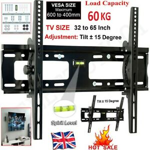 SWIVEL TV WALL MOUNT BRACKET TILT LCD LED PLASMA 32 37 40 45 47 50 55 60 65 INCH