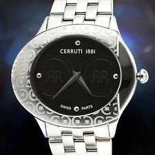 Cerruti 1881 Swiss Stainless Steel Ladies Watch / RETAILS AT $2,128.00