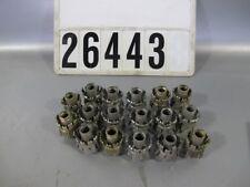 """17 Stück 3/4"""" Schlauchverbinder für Kompressorschlauch Pressluftschlauch #26443"""