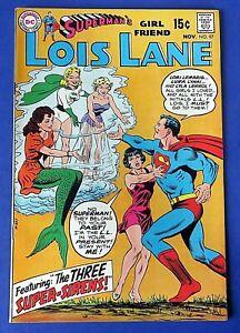 SUPERMAN'S GIRLFRIEND LOIS LANE #97 COMIC BOOK 1969 DC SILVER AGE ~ VF/NM