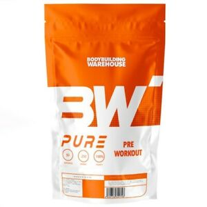 Pure Pre Workout Powder 50 Supercharged Servings Strong Muscle Elite Pump Energy