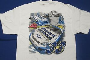 VINTAGE Kevin Harvick #33 Road Loans JUMBO PRINT T-shirt - Sizes: Large or XL