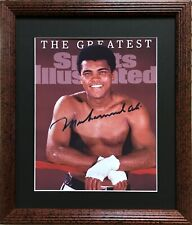 Nice Framed Muhammad Ali Color Photo ( Sports Illustrated- Boxing )
