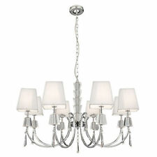 Searchlight Chrome Modern 7-12 Ceiling Lights & Chandeliers
