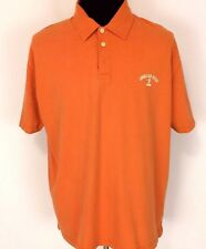 AMERICAN EAGLE OUTFITTERS MENS Sz XL ORANGE SHORT SLEEVE NICE CASUAL POLO SHIRT